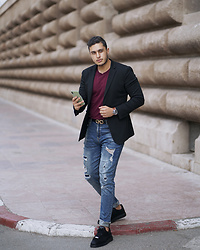 Spoke STYLE - Goodwinssmith Sneakers, Xsuit Blazer - 45th Avenue