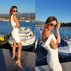 Tamara Bellis -  - Perfect White Dress