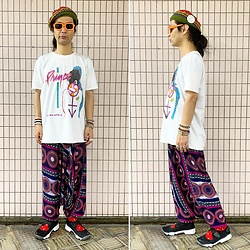 @KiD - Override Oriental Beret, Prince Tee, Nike Air Lift - JapaneseTrash593