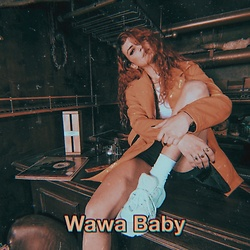 Wawa Baby - Adidas Sneakers - Orange Vibes