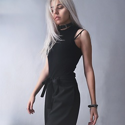 Anne-Cécile Van Doren -  - All black everything