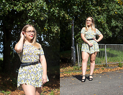 Emma Reay - Yellow Playsuit Gifted - Feels Like Summer