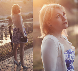 Anca Varsandan - Orsay Bolero, H&M Dress, New Look Clutch, Dorothy Perkins Heels - Summer Sunset