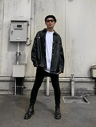 ★masaki★ - Neuwdenim Skinnyjeans, Dr. Martens 8hole - What a Lovely Day