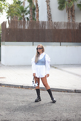 Claudia Villanueva - Zara Shirt, Zaful Top, Zaful Bag, Zara Boots - The transition has begun