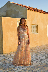 Tamara Bellis - Ever Pretty Rose Gold Dress - Rose Gold Dress