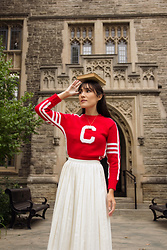 Carolina Pinglo -  - Varsity Sweater