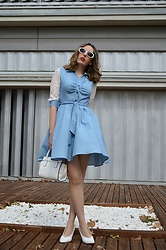 Elisabeth Green - Dresslily Dress - Denim Lady Dress