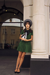 Carolina Pinglo -  - Green Dress