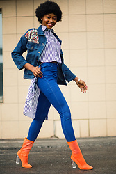 Melody Jacob -  - HIGH WAY FASHION DENIM FASHION