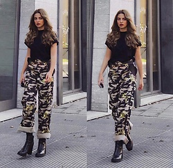 Mery Jeferly -  - Military Pants