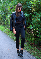Jointy&Croissanty © - Femme Luxe Pants - Black cargo pants