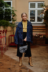 Joicy Muniz - Munthe Jacket, Baum Und Pferdgarten Shirt, Christian Dior Bag, Agl Boots - Denim Jacket
