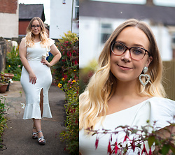Emma Reay - Ever Pretty White Dress Gifted - Saturday Glam