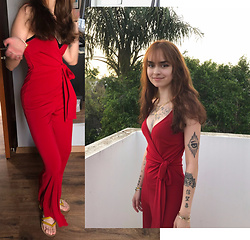 Jessica Faith Marshall - F21 Jumpsuit, Cypriot Jewelry *I Designed - Plz, find half my heart in the city [...]