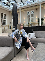 Joicy Muniz - Sandro Paris Blazer, Christian Dior Bag, Notabene Shoes - Copenhagen