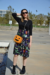 Elisabeth Green - Dresslily Dress, Dresslily Bag - Halloween Dress