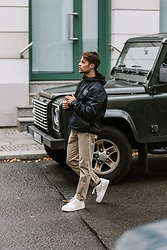 Kevin Elezaj - Nike Sneakers, Zara Pants, Nike Jacket - Sunday