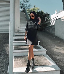 Christy Jaldori - Dress, Ale Boots - Bad vibes don't go with my outfit