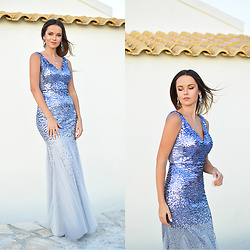 Tamara Bellis - Ever Pretty Elegant Sequin Dress - Elegant Sequin Dress