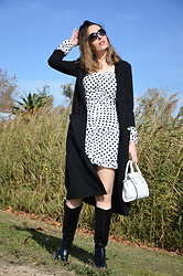 Elisabeth Green - Femmeluxe Dress - Polka Dots in Autumn