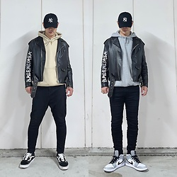 ★masaki★ - Balenciaga Oversized Ridersjacket, R13 Denim Jeans, Asos Dropchrotch, Nike Airjordan1, Vans Oldskool - Which do You like?