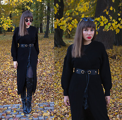 Jointy&Croissanty © - Femme Luxe Cardigan - Black cardigan