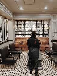 Nicole Plunkett - Club Monaco Jacket - Claridge House Hotel Chicago | Nicole Plunkett