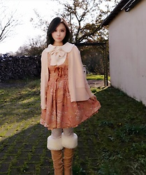 Nowaki Selenocosmia - Liz Lisa Jumperskirt - Winter outfit