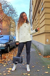 Rimanere Nella Memoria - More & Jumper, Freddywear Pants - Casual Chic in Autumn