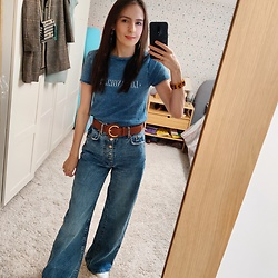 Lauren Newby -  - Double denim