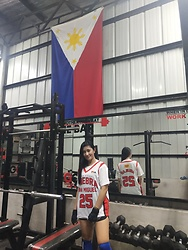 Ritz D - World Balance Pba Ginebra Jersey Shirt, Nike Dryfit Shorts - GINEBRA x Philippines