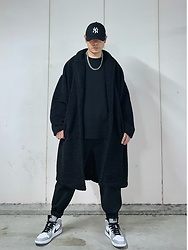 ★masaki★ - Asos Teddycoat, Vitaly Necklace, Nike Aj1 - Simple Fits