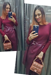 Natalyushka -  - New look December bordo mood