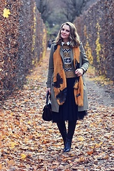 Butterfly Petty - Burberry Jacket, Oasap Skirt, Zara Sweater, Guess Bag, Epica Boots - Tulle skirt