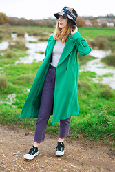 Chelsea Jade -  - Green Coat + A Bucket Hat