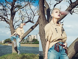 Sheena Son - Gu Shirt, Zara Jeans - Winds Melody