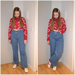 Mucha Lucha - Asos Jumper, H&M Belt, H&M Jeans, Nike Sneakers - More simple