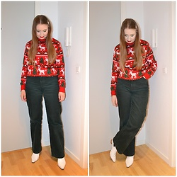 Mucha Lucha - Julesweaters Jumper, Monki Trousers, Topshop Boots - Not hauled yet