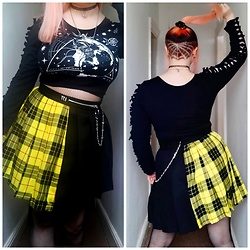 April Willis - Love Too True Lottie Clash Skirt - CLASH