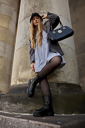 Marta Caban - Stradivarius Jacket, Versace Bag, Jenny Fairy Shoes - GRUNGE