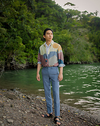 FL JU - A Kind Of Guise Shirts, Officine Generale Shirts, Topman Pants - A Kind of Guise