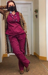 Joy H -  - Leopard & Scrubs