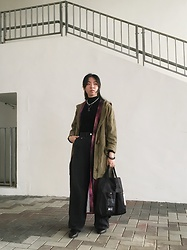 Flosmoony - Monki Pants, H&M Top, Monki Jacket, Monki Galaxy Kimono Jacket - 2021/first look