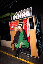 Ewa Michalik - Patrizia Pepe Dress, Aggi Coat, Mateo & Palazzo Shoes, Goshico Bag - Photo booth