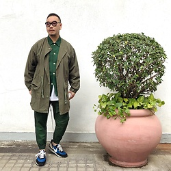 Mannix Lo - Wtaps No Collar N65 Parka, Gu Jacket, Jogging, Undercover X Nike Daybreak Sneakers - Dear 2021, please be kind