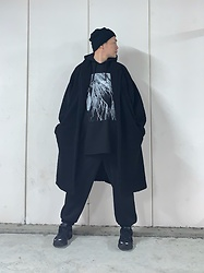 ★masaki★ - Jesse Draxler Tee - All Black Everything