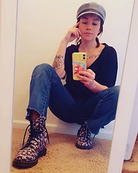Samantha Rydin - Dr. Martens Docs - 7 Years of Bad Luck