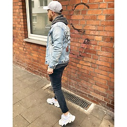 Thibaud Coquillon - Tigha Jeans Jacket, H&M Jeans, Calvin Klein Sneakers - #23