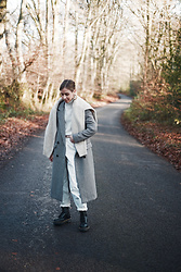 Daniella Robins -  - Winter's Whites and Chunky Boots